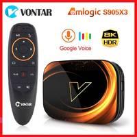 ТВ-приставка Vontar X3, 4 + 128 ГБ, Android 1000, Amlogic S905X3