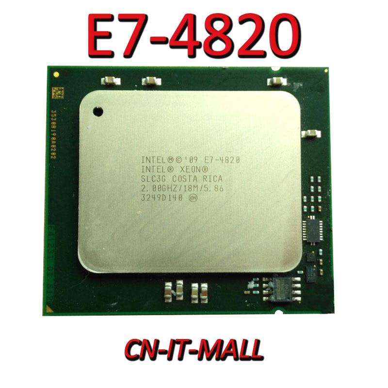 Вытяжной процессор Xeon E7-4820 2,0G 18M 8Core 16 Thread LGA1567