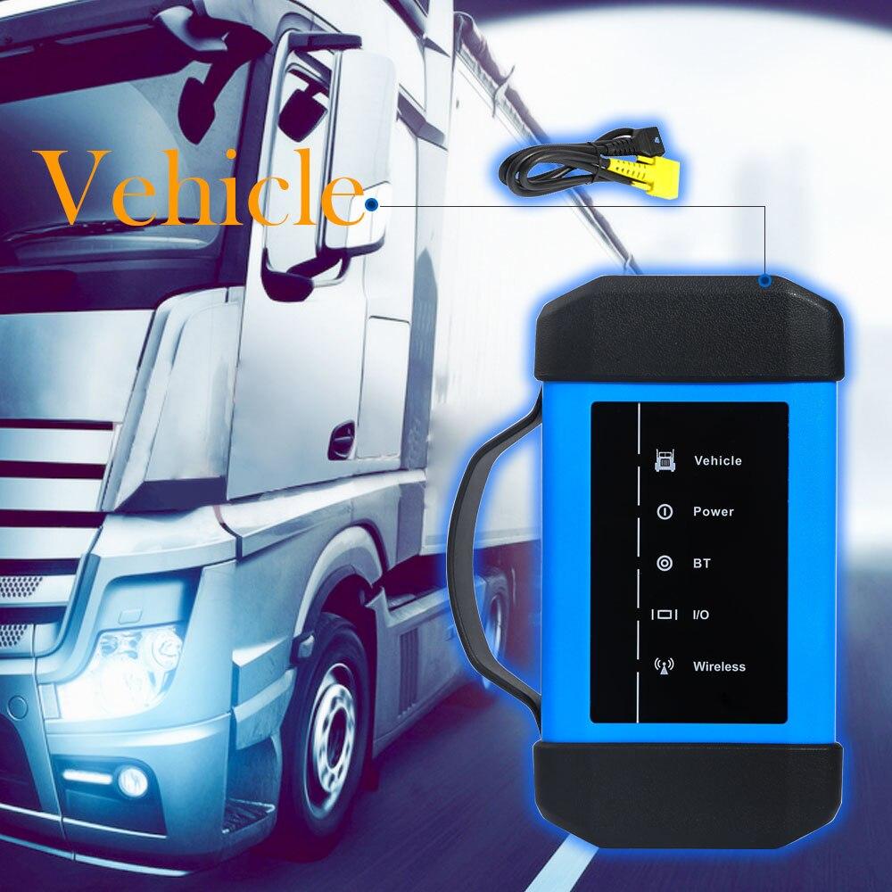 Launch X431 HD3 último adaptador de diagnóstico para camiones pesados a través de USB Bluetooth para BENZ X431 PAD III escáneres para camiones de 24V