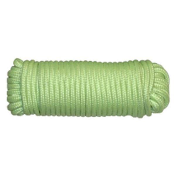 Cuerda tipo 3/16 pulgadas x 15 m/50 pies-brillan en la oscuridad-Camping/tienda