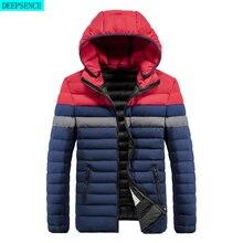 Parka Coat Men\'s Winter New Windproof and Warm Hooded Parka Coat Jacket Men\'s Casual Fashion Coat