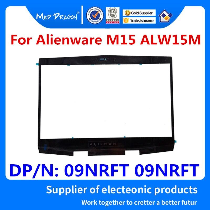 Nuevo bisel frontal LCD para portátil, cubierta de Marco lcd para Dell Alienware M15 ALW15M nuevo M15 R1 Alien M15 R1 Qrion 15 09NRFT 09NRFT