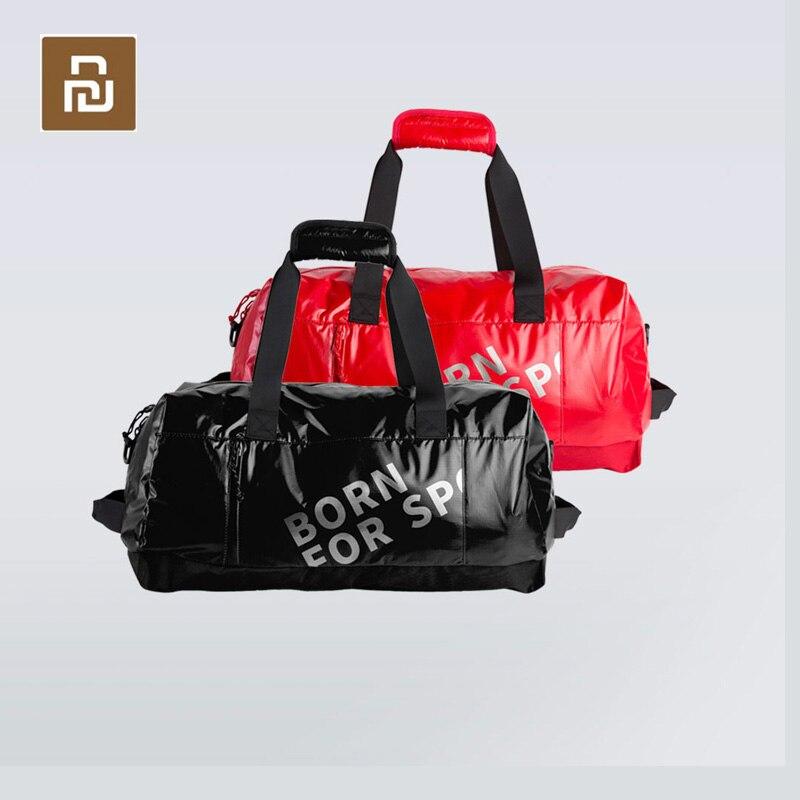 Youpin IGNITE-حقيبة كتف رياضية ، حقيبة تدريب مريحة ، سعة كبيرة ، قماش مقاوم للماء ، 39L