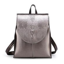 2020 nouvelle femme sac à dos haute qualité en cuir marque femme sacs à dos haute qualité cartable grande capacité sac décole sac de voyage