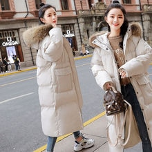 2020 Korean New Winter Cotton Coat Women Warm Thicken Jacket Coat Womens Hooded Cotton-padded Overco