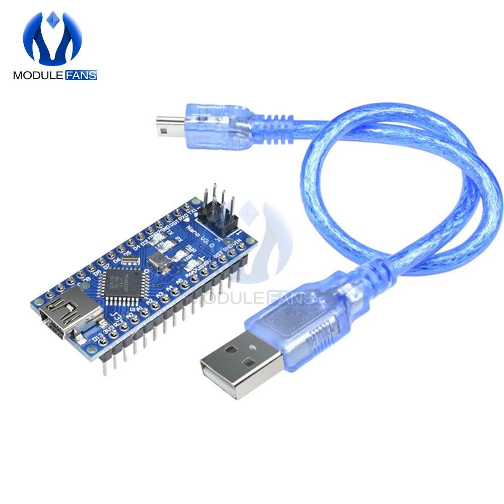 Nano V3.0 3.0 FT232 Chip ATmega328 Atmega328p 16M 16MHZ Board Voor Arduino UNO R3 Mini Usb AU Zonder usb Kabel I/O