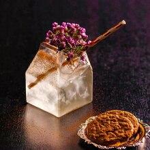 Vaso de papel de leche de cristal rojo creativo de 2020 in Vibrato, vaso de cristal de cóctel con personalidad creativa