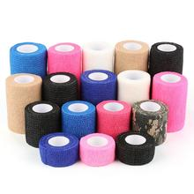 5 Colors Self-Adhesive Elastic Bandage Elastoplast Wrap Tape Sports Protector For Knee Finger Ankle