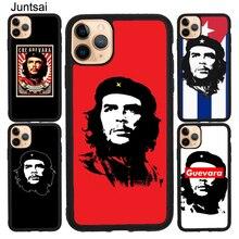 Che Guevara TPU Pour iPhone XR X XS Max 5S SE 2020 6S 7 8 Plus 11 Pro Max Housse Coque