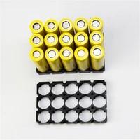 masterfire 500pcslot 35 21700 battery holder bracket cell safety anti vibration black plastic brackets for 21700 batteries