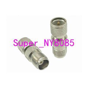 10pcs Adapter converter mini*UHF male Plug to TNC female Jack RF COAXIAL