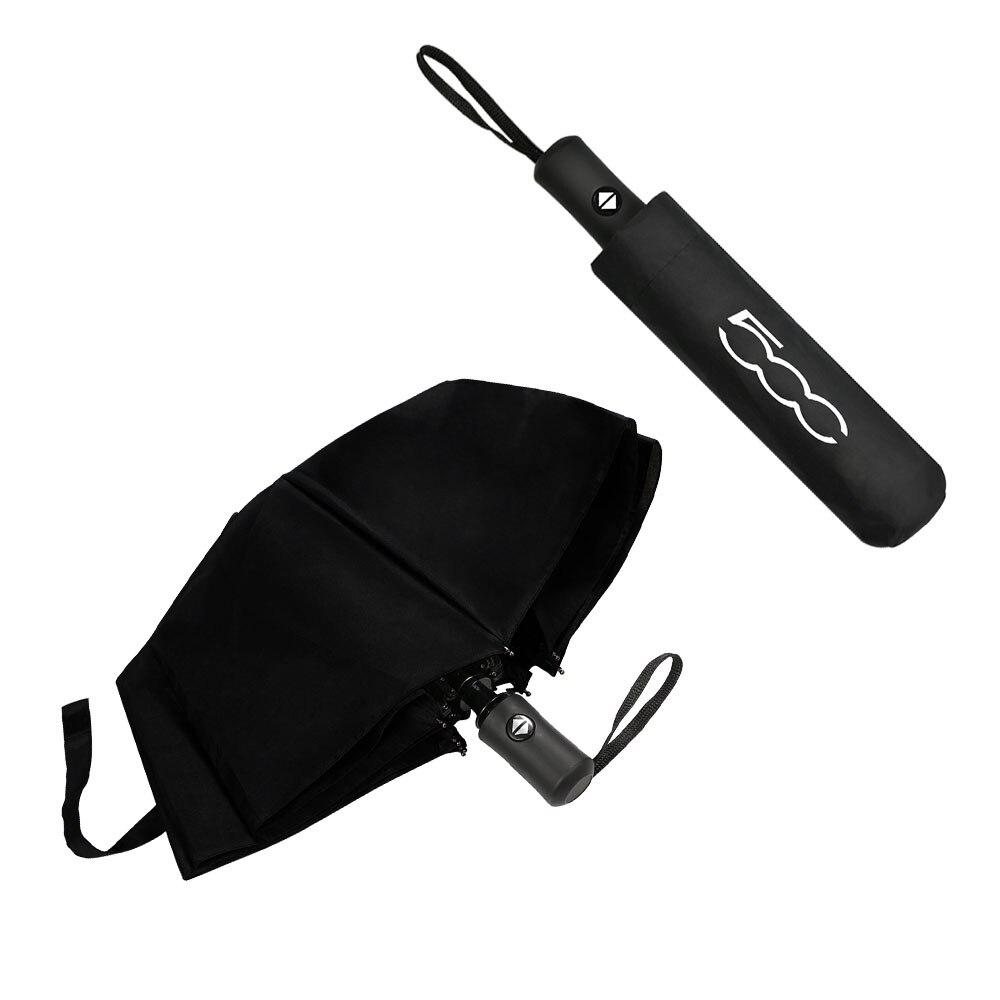 Мужской и женский зонт с логотипом автомобиля FIAT 500X 500L 500, магнитный автоматический зонт, аксессуары FIAT