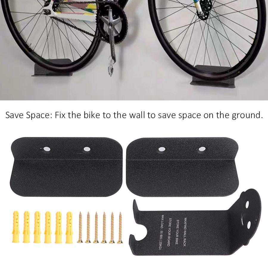 Nuevo Portable Bike Rack ciclismo Pedal candados titular Tire montaje en pared bicicleta soporte de pared soporte de almacenamiento soporte bicicleta accesorio