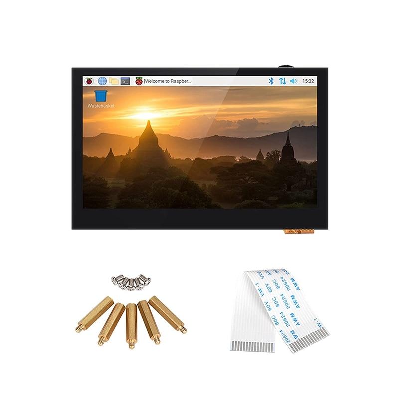 BIGTREETECH ترقية PI TFT 43 TFT شاشة الكريستال السائل DSI 800x480 ل Raspberry Pi نموذج (3in الصحافة الشاشة) (105.5x67 مللي متر)