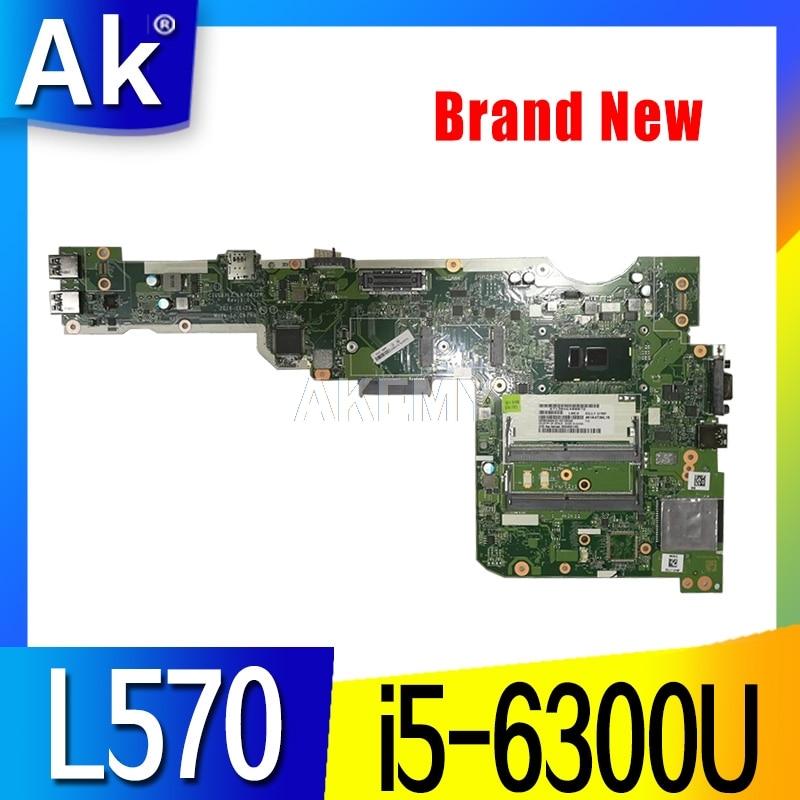 ThinkPad CILL1/L2 CILL3 LA-C422P 01YR020 para Lenovo Thinkpad L570 L560 placa base de computadora portátil i5-6300U i5-6200U placa base