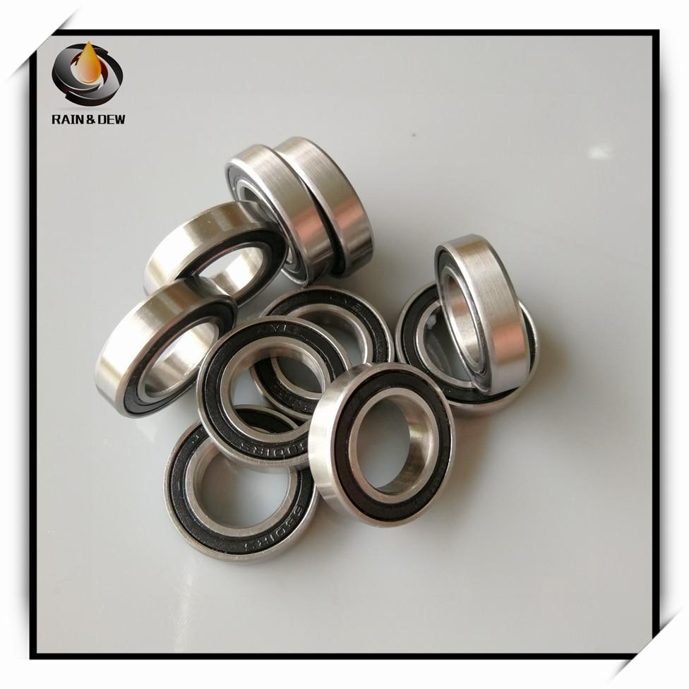 1Pcs 6801 Hybrid Ceramic Bearing 12x21x5 mm ABEC-7 Bicycle Bottom Brackets & Spares 6801RS Si3N4 Ball Bearings 6801 2RS