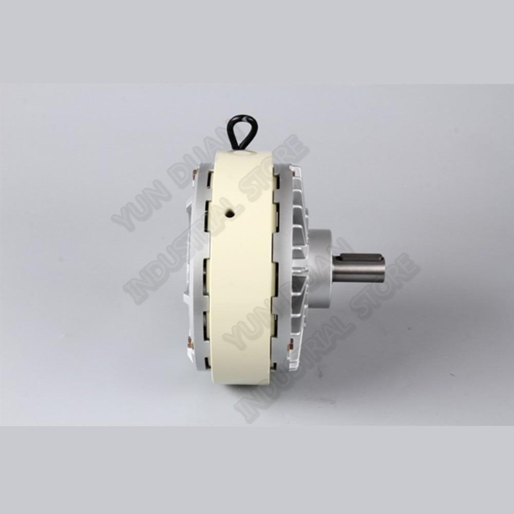 100Nm 10kg DC 24V One Single Shaft 30MM 1000RPM Magnetic Powder Brake Unwinding for Tension Control Bag Printing Dyeing Machine