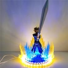 Dragon Ball Z Super Saiyan Torankusu troncs figurines daction jouets Anime Dragon Ball Super futur troncs épée Figurine à collectionner