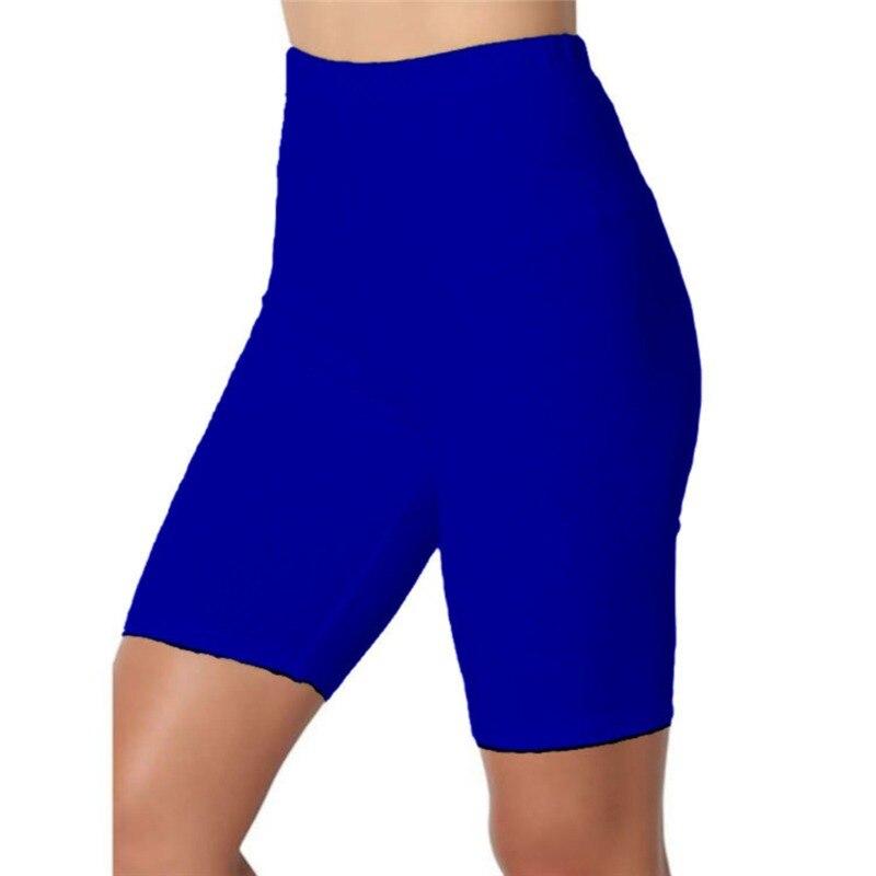 Fitness Leggings Women Elastic High Waist Sport Leggings Femme Workout Short Legging Push Up Slim Pants Summer