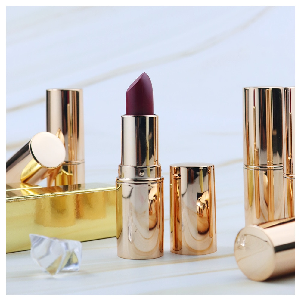 Custom Logo Vevet Matte Lipstick Waterproof Long Lasting Beauty Lipstick for Women Sexy Make Up Cosmetic Soft Lip Makeup OEM