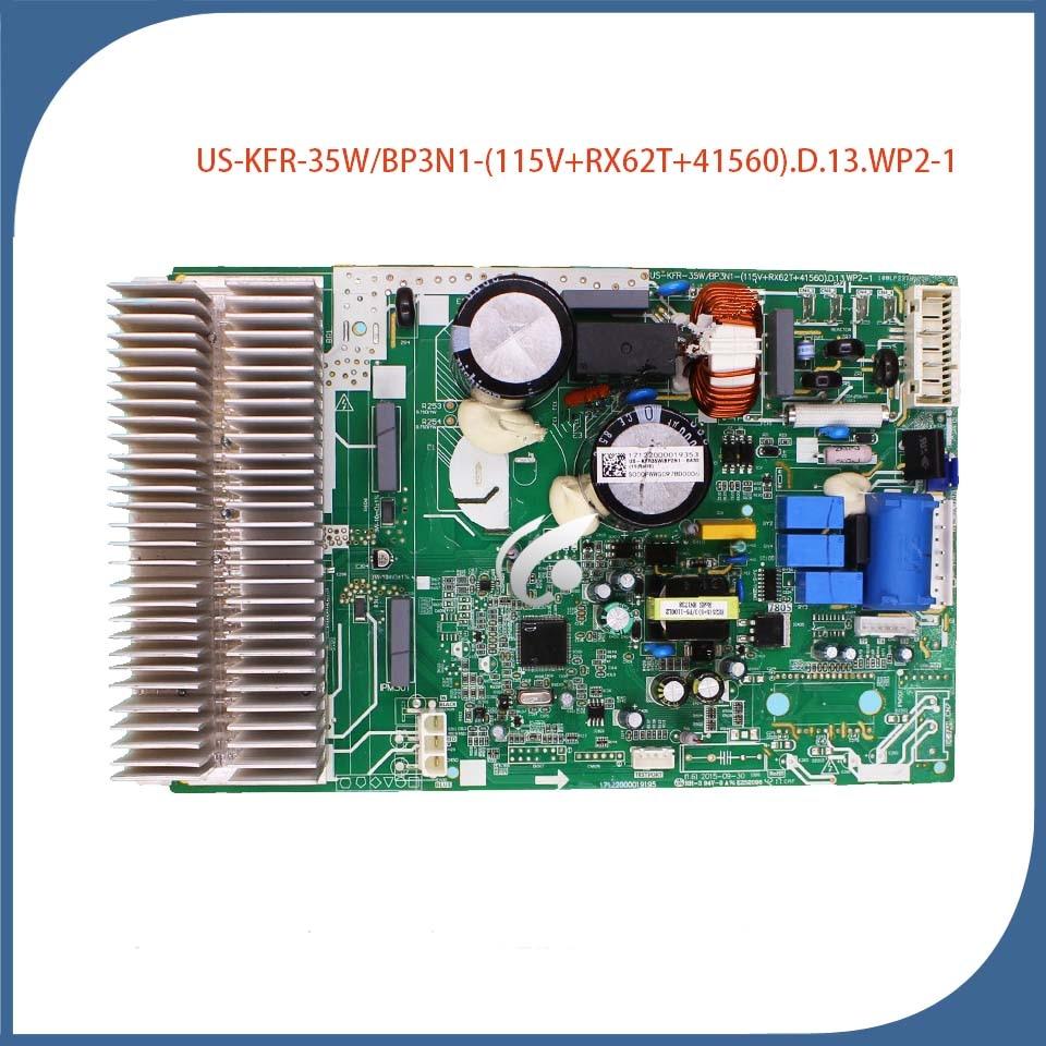 جيد لتكييف الهواء لوحة أم للكمبيوتر US-KFR-35W/BP3N1-(115 فولت + RX62T + 41560).D.13.WP2-1 تكييف الهواء جزء المستخدمة