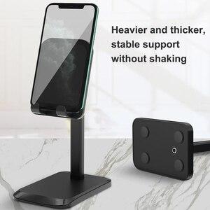 Kebiss Adjustable Tablet Mobile Phone Desktop Phone Stand For IPad Tablet Desk Holder For iPhone xiaomi Mobile Phone Holder