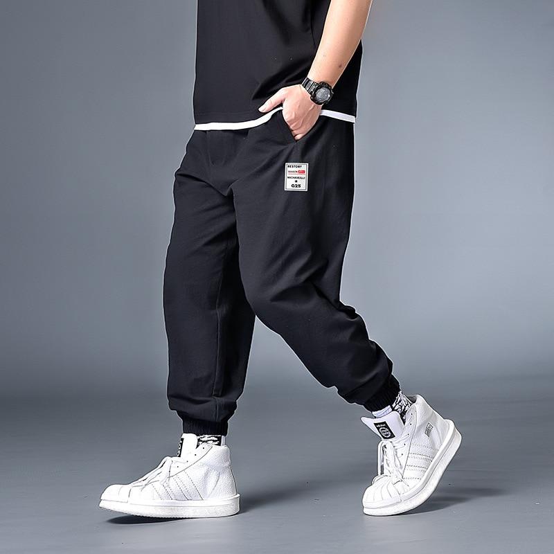 Джоггеры мужские в стиле Харадзюку, уличная одежда, шаровары в стиле хип-хоп, большие размеры 7XL 6XL XXXXL, осень 2020