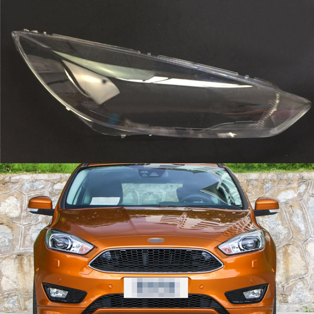 Headlamp Lens For Ford Focus 2015 2016 2017 Headlight Cover Car Replacement Head Light Auto Shell
