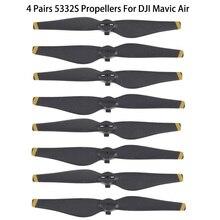 2 paire/4 paire 8 pièces 5332s DJI Mavic Air hélices hélices lame accessoire pour DJI Mavic Air Drone accessoires