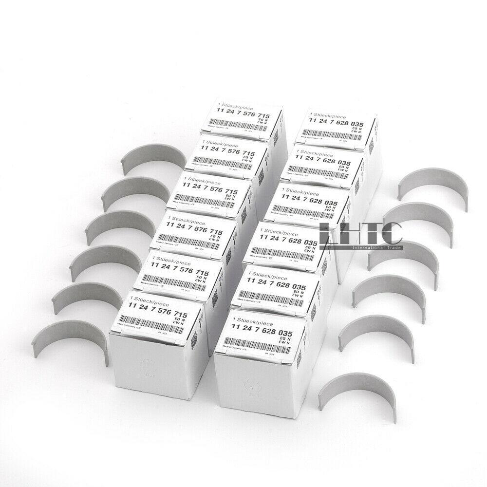 12 قطعة ربط كونرود محامل مجموعة ل BMW 335i M3 M4 X5 F30 F10 F15 F80 N54 N55 S55 3.0L