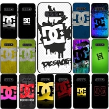 Dc Shoes Couple Silicone Phone Case for Samsung Galaxy S6 S7 Edge S8 S9 S10 S20 Plus Lite S20 Ultra