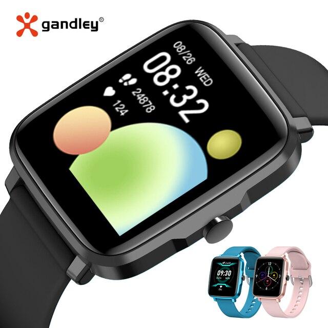 GandlEy F2 Watch Smartwatch Smart Watch Men Women Android IOS Bluetooth Smartwatch 2021 Passometer Smart Watch For Xiaomi 4