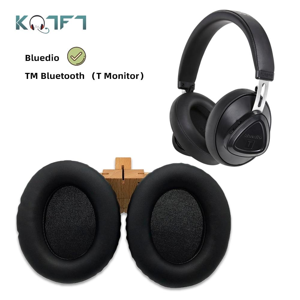 KQTFT Replacement EarPads Headband for Bluedio TM Bluetooth T-M T Monitor Headset Universal Bumper Earmuff Cover Cushion Cups