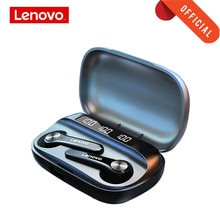 Lenovo Bluetooth 5.1 Headphone Wireless Earphone QT81 Stereo Sound Headset Touch Button with 1200mAh
