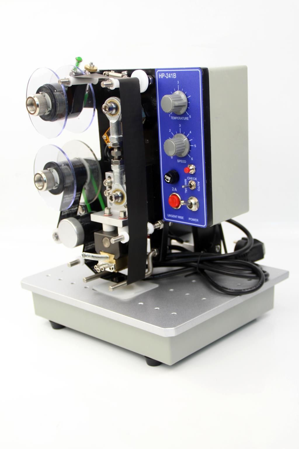 HP-241B الكهربائية الشريط ماكينة ترميز ماكينة ترميز الدفعات ماكينة ترميز آلة طباعة