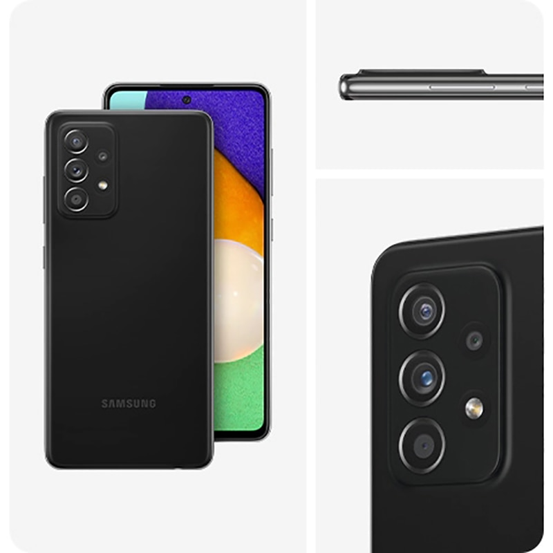 DHL Free Shipping Global Version Samsung galaxy A52S 5G A528B Smartphone Dual Sim 8GB 256GB 25W 4500mAh 64MP NFC IP67 enlarge