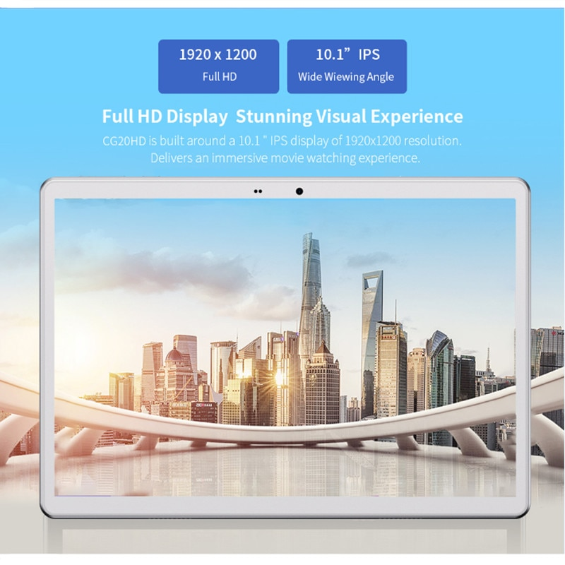 Tablet SHDU 10.1inch Octa Core 3G 4GLTE Phone Call Android10 1920×1200 4GB RAM 64GB ROM Type-C AI-speed-up 5000mAh tablet PC enlarge