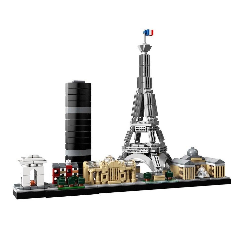 Paris rchitecture Architecture high-tech Bricks Construction toy Gifts MOC Compatible Building Blocks Diy Toys For Children Kids