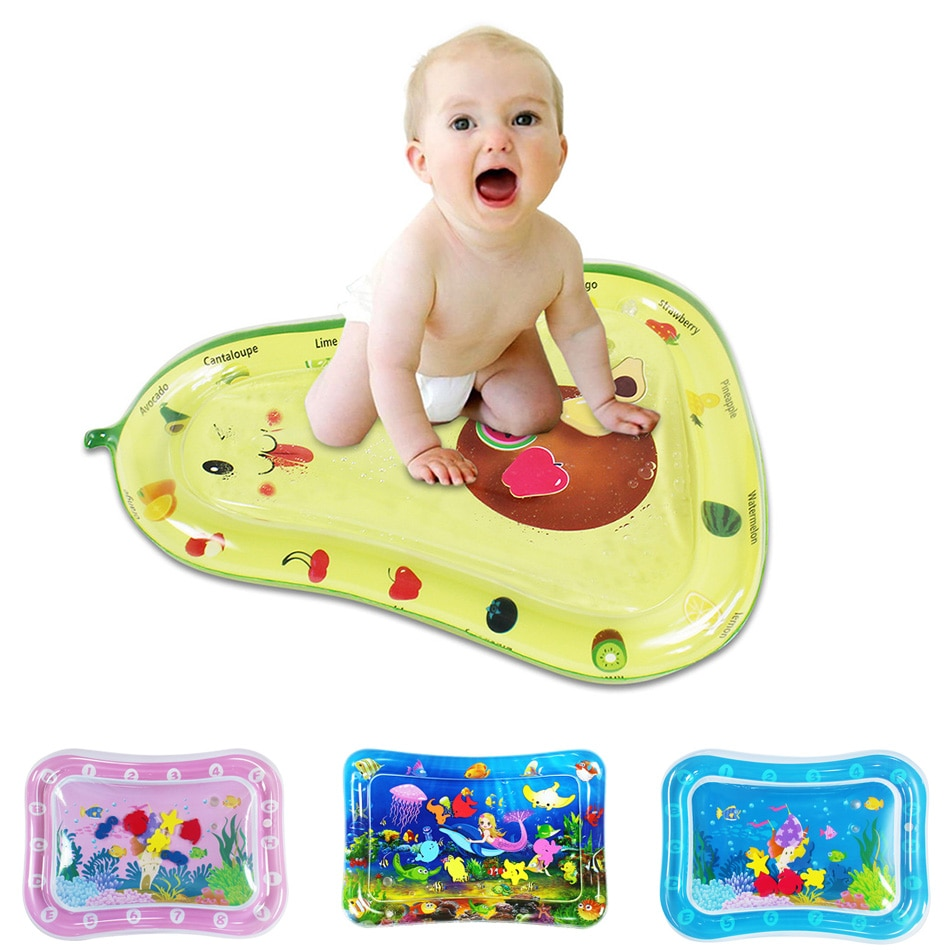 baby activity play mat baby gym educational fitness frame multi bracket baby toys game mats play lay sit toy with piano mirror 0-3Y Baby Toy Play Mat Newborn Pat Water Mat Childrens Educational Game Cartoon Toy Summer Baby Water Play Mat Baby Play