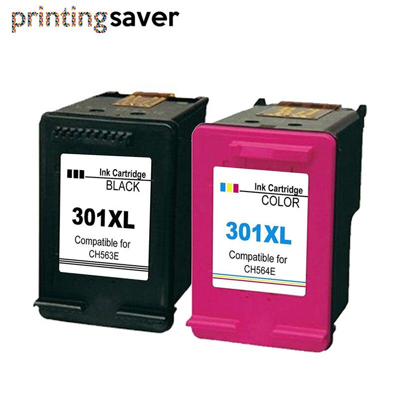 Cartucho de tinta 301XL Compatible con hp 301 xl hp301, cartucho de tinta para impresora hp Envy 4500 Deskjet 2630 2540 2510 1000 1050