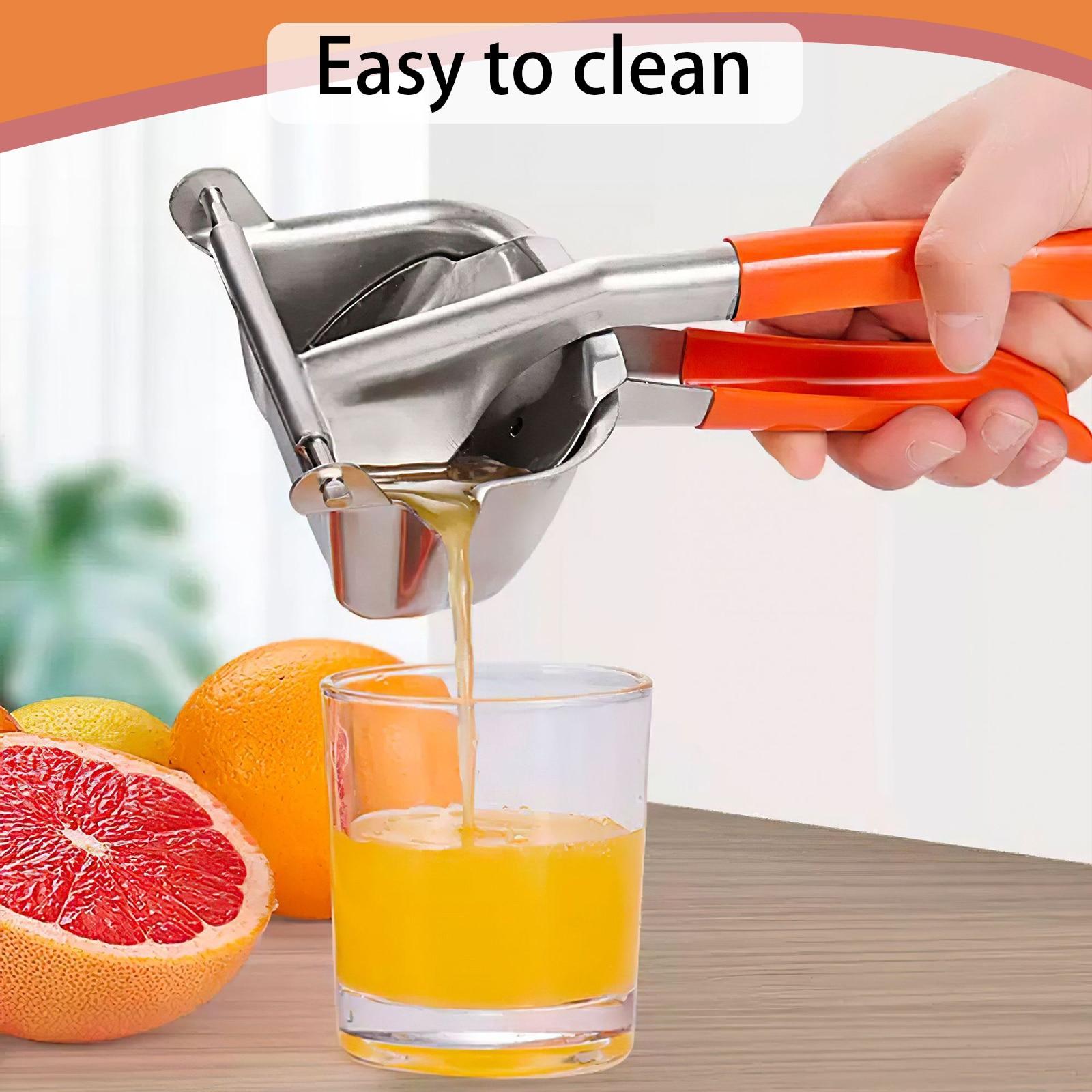 عصارة يدوية من الفولاذ المقاوم للصدأ عصارة الليمون عصارة يدوية عصير الرمان البرتقال قصب السكر أدوات المطبخ الفاكهة