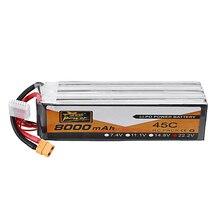 ZOP Power 22,2 V 8000mAh 45C 6S Lipo Batterie XT90 Stecker für FPV Racing DroneRC Auto