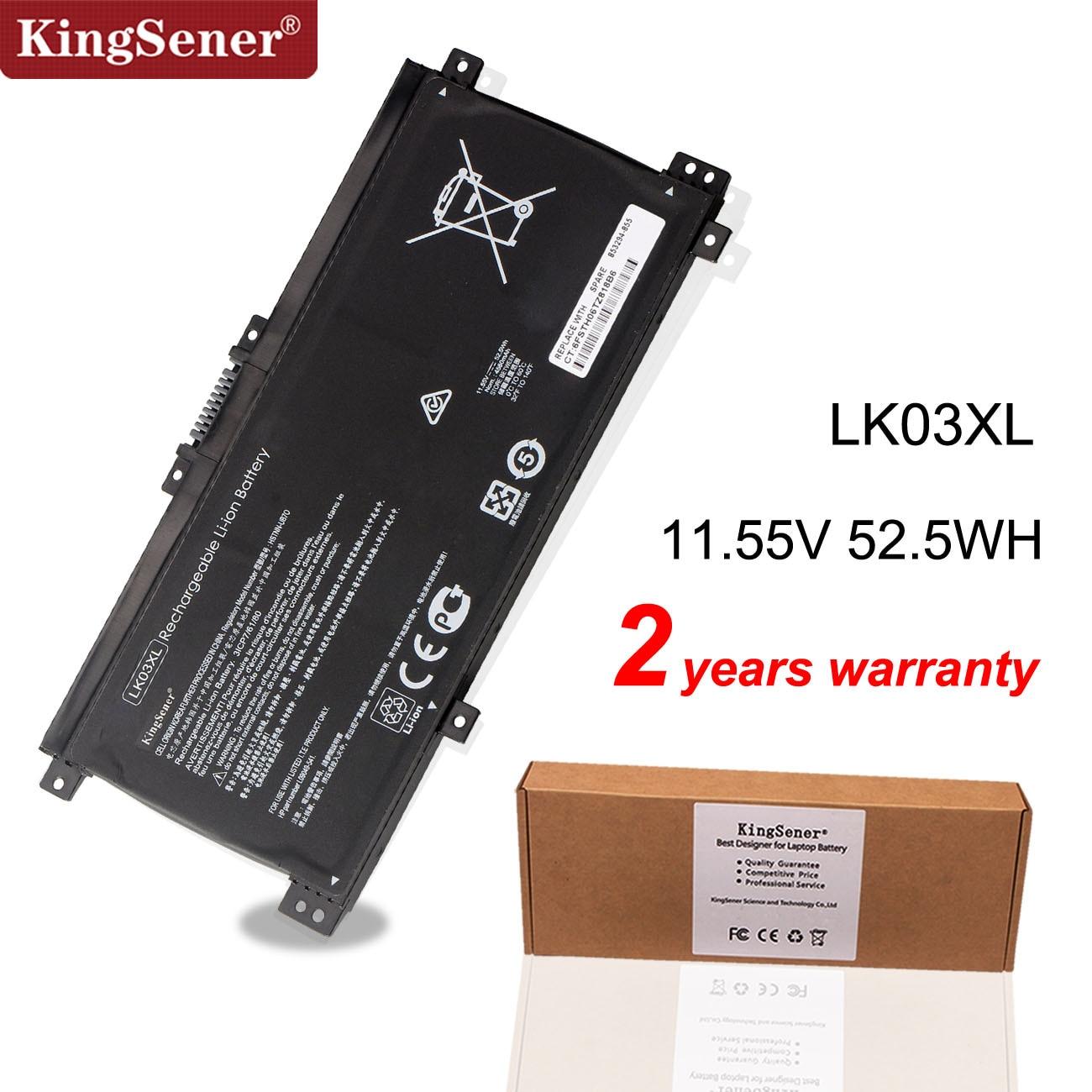 Kingsener LK03XL محمول بطارية لجهاز HP الحسد 15x360 15-bp 15-cn TPN-W127 W128 W129 W134 HSTNN-LB7U HSTNN-UB7I HSTNN-IB8M