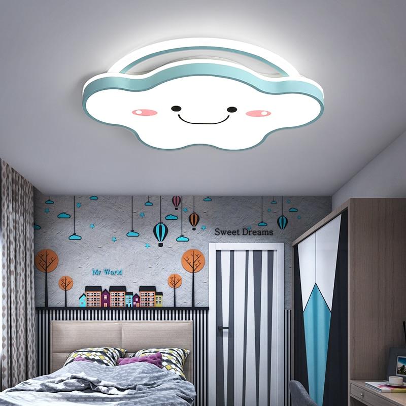 Lámpara led de techo para decoración del hogar, iluminación nórdica para salón...