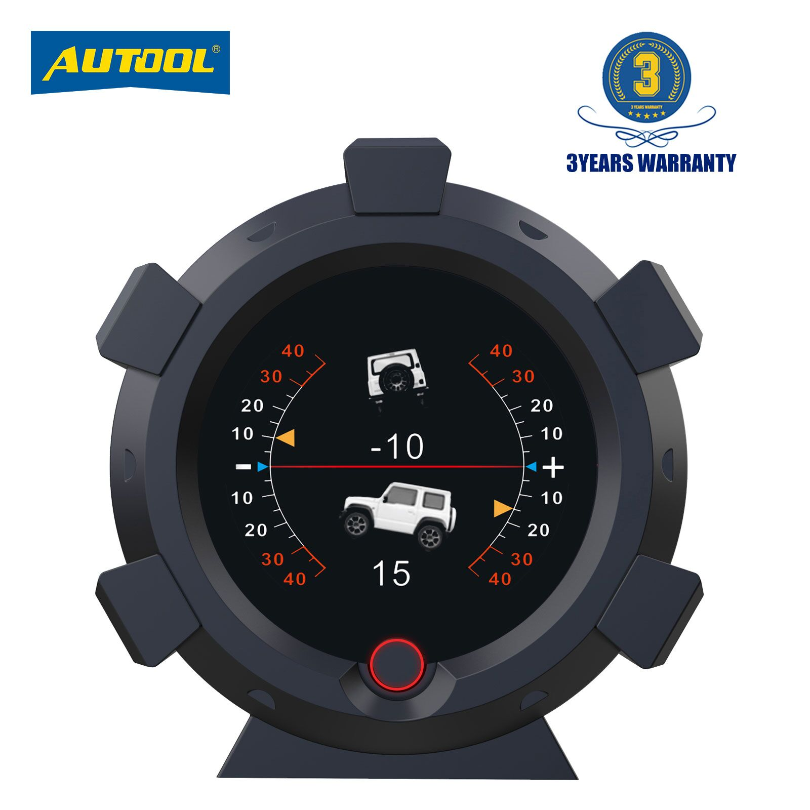 AUTOOL X95 Car 4x4 Inclinometer Provide Slope Angle Speed Satellite Timing GPS Off-road Vehicle Acce