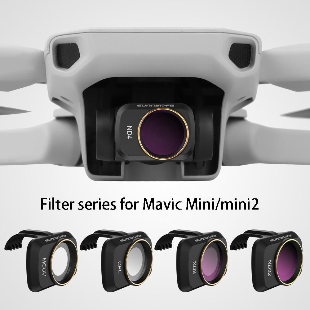 DJI Mavic Mini/Mavic Mini SE مرشحات ND CPL NDPL MCUV مجموعة فلاتر الزجاج البصري ل DJI Mavic Mini 2 اكسسوارات