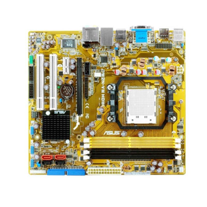 ل ASUS M2N-VM HDMI المقبس AM2 + DDR2 سطح المكتب اللوحة ل VIDIA دعم المقبس AM2/AM2 + مايكرو ATX سطح المكتب اللوحة