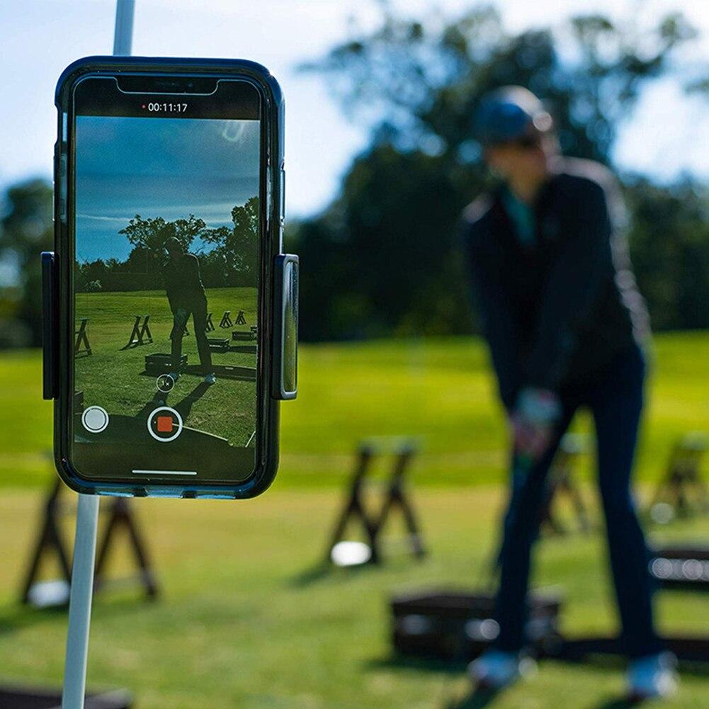 Swing Enregistreur étui à téléphone Clip de Maintien Entraîneur Pratique Formation Aides Accessoires De Golf