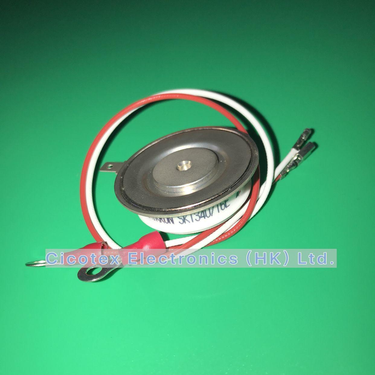 SKT340/16E модуль SKT 340/16 E линия тиристора IGBT капсула 1600V 340A чехол B8 TO-200AB SKT340-16E
