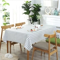 tablecloth pvc plastic table cloth waterproof anti scalding and oil free proof rectangular tea table mat cover